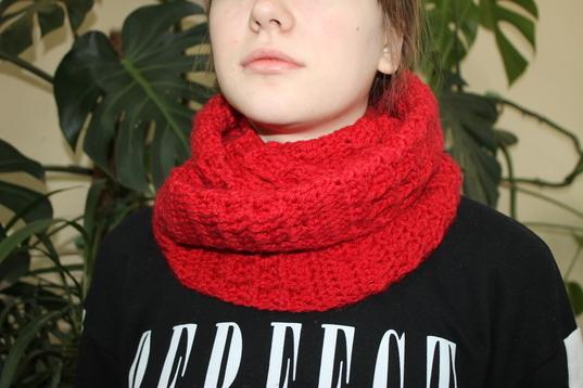 творческий проект по технологии шарф снуд в подарок алые паруса