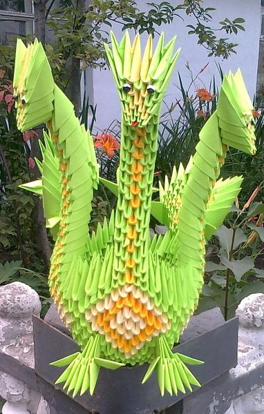 папди модульное оригами змей горыныч фото мастер класс подберем свет