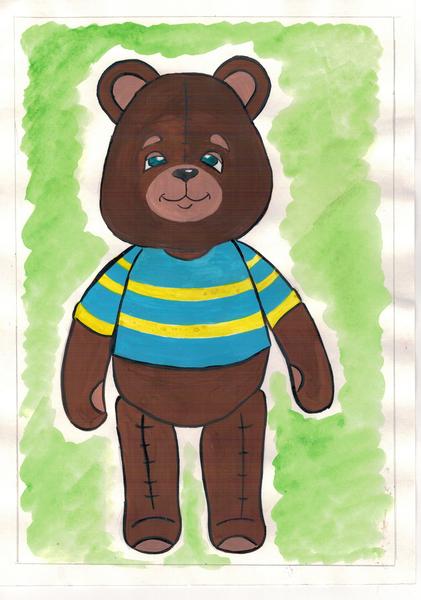 Моя любимая игрушка рисунок 3 класс, русского языка