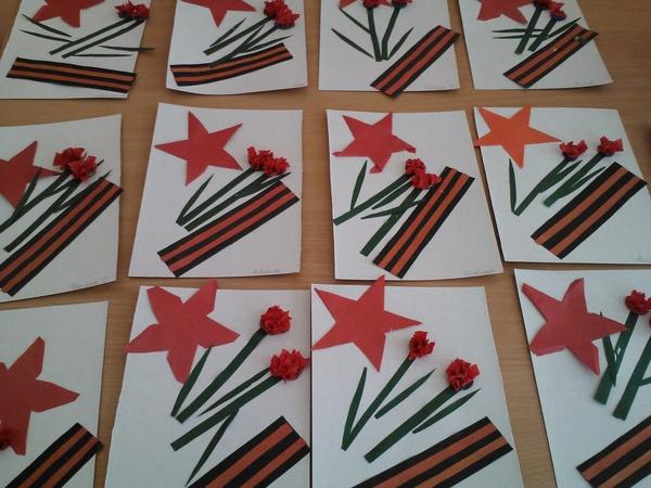 Про, открытки с днем победы 9 мая своими руками простые в детский