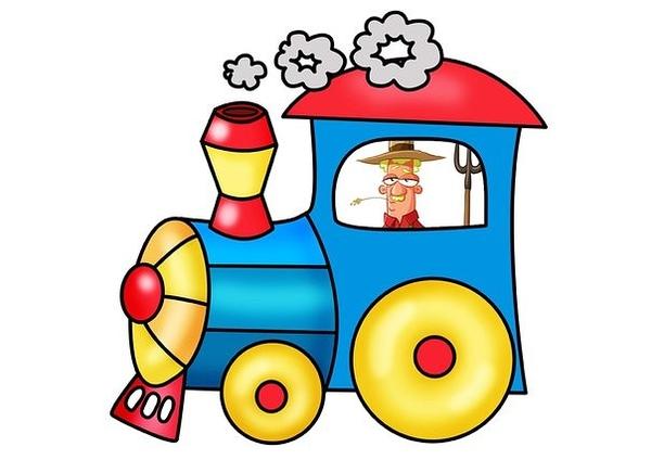 Все, картинки паровоза детские
