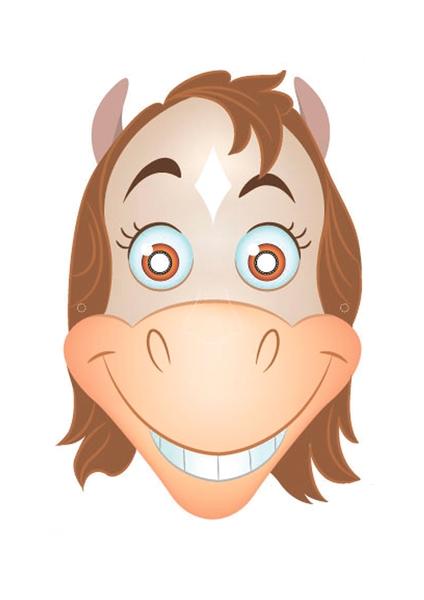 Картинка лошадь для маски