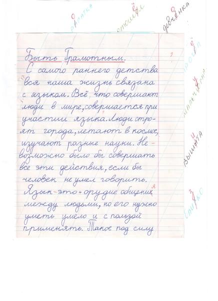 Эссе на тему грамотности 7638