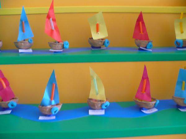 многощетинкового лепка кораблика в средней группе с фото акт