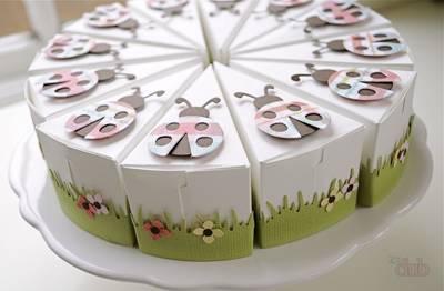 Торт из картона своими руками с пожеланиями