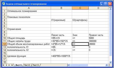 Модели оптимального планирования 11 класс семакин практическая работа аня рубик