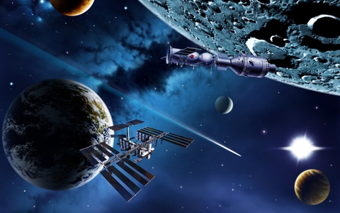Техника в освоении планеты и космоса доклад 1582
