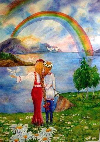 Крымская весна картинки и рисунки, пасху своими